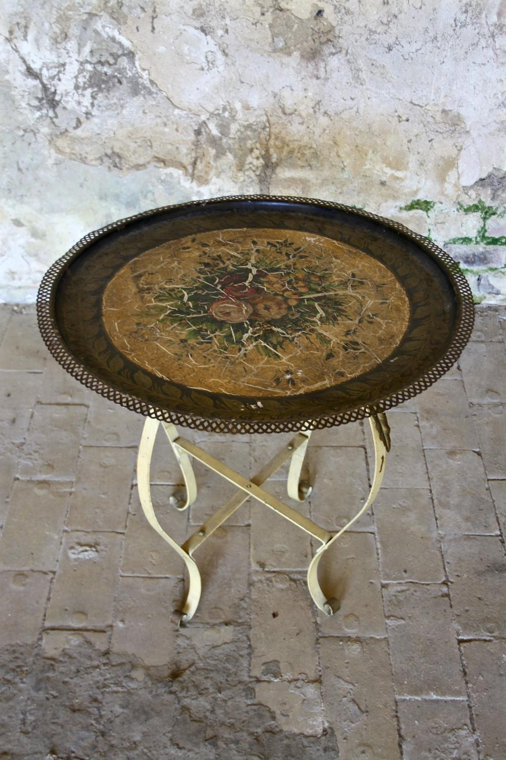 1930's tray top table