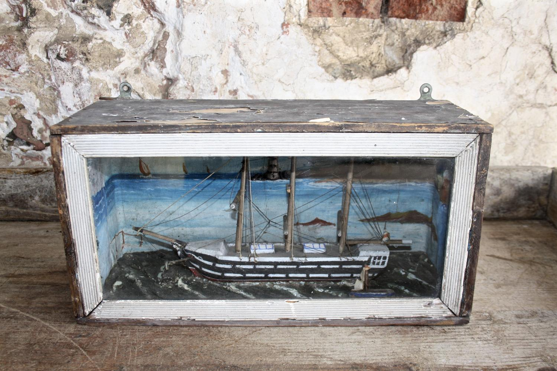 Ship diorama