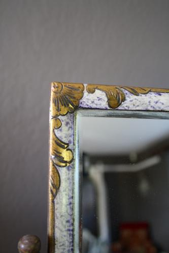 French dressing table mirror