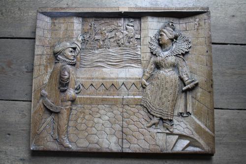 Queen Elizabeth I and Sir Francis Drake