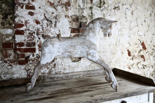 19th century wooden horse