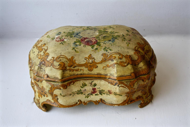 Florentine jewellery box