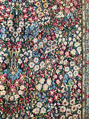 Iranian floral rug
