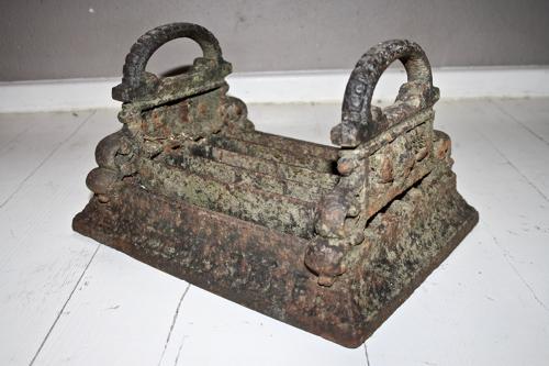 19th century boot scraper