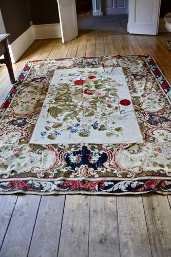 Beautiful aubusson carpet