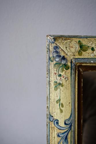 Handpainted dressing table mirror