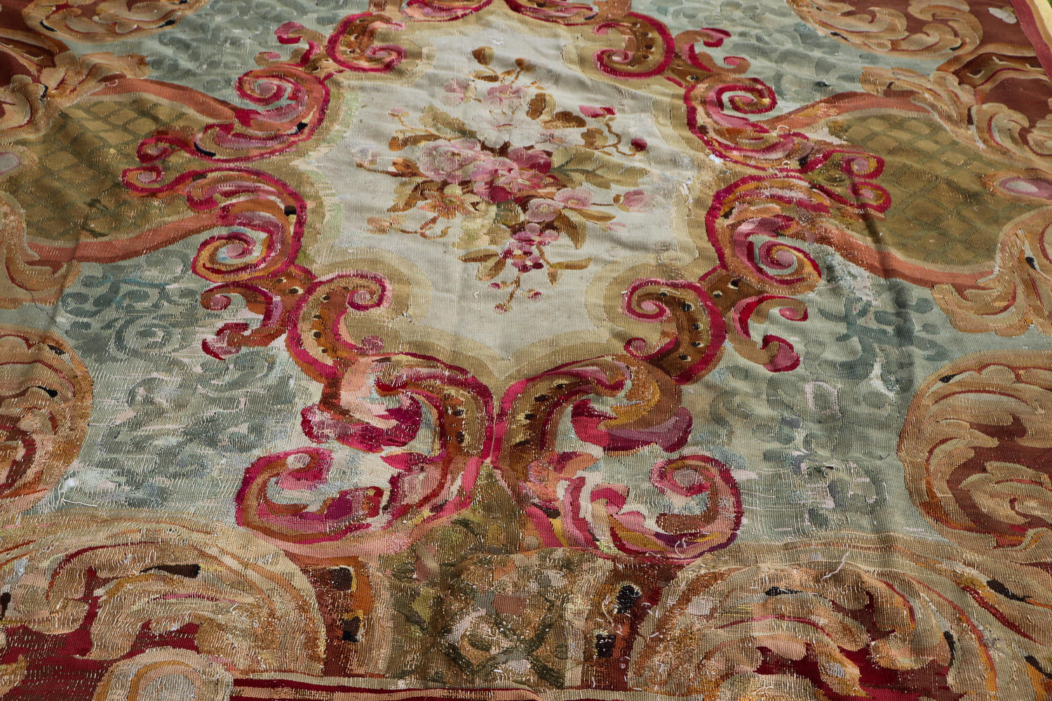 Aubusson carpet - 19th century