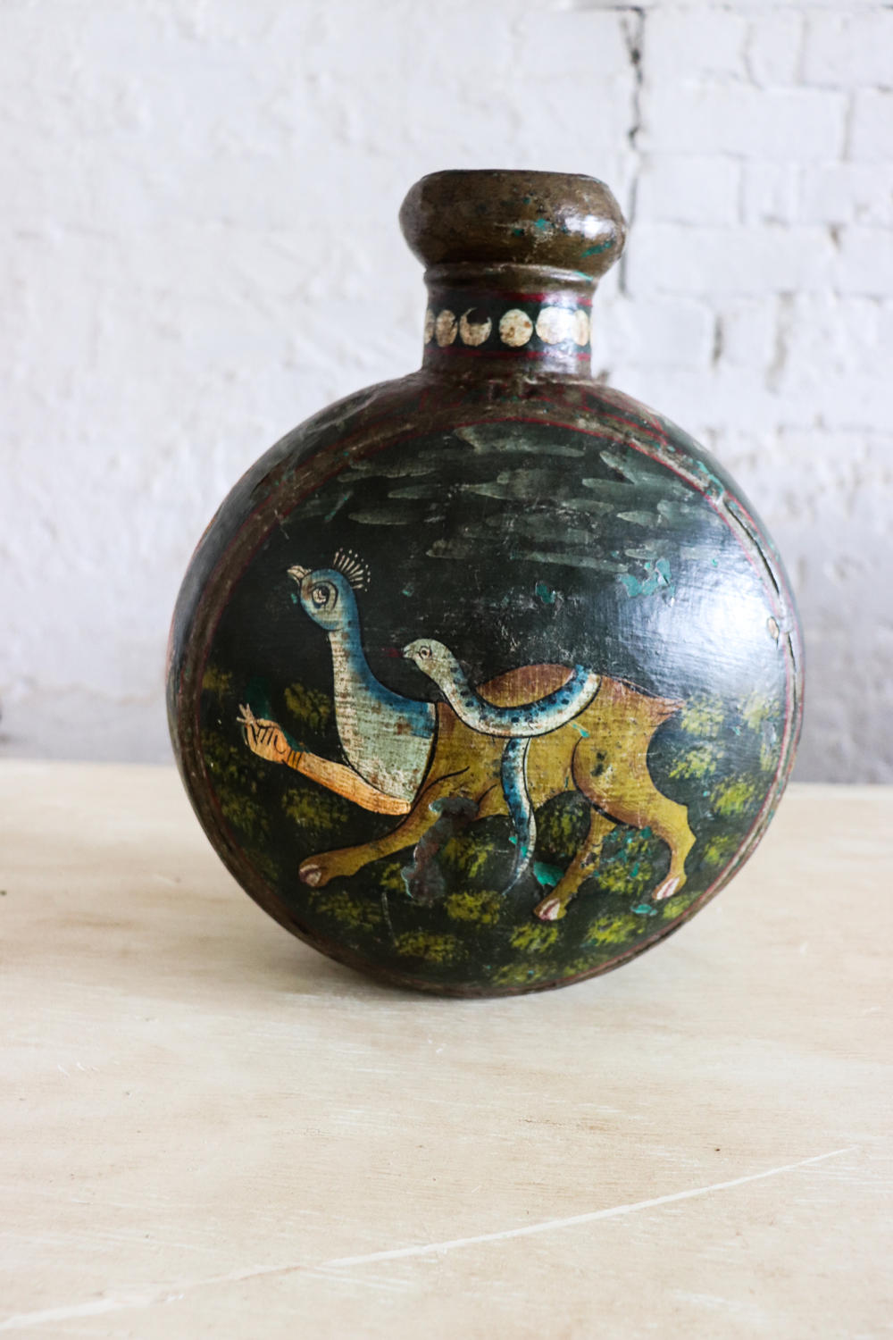 Antique Indian water vase