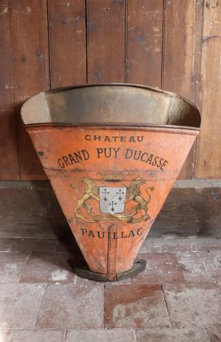 19th century French grape hod