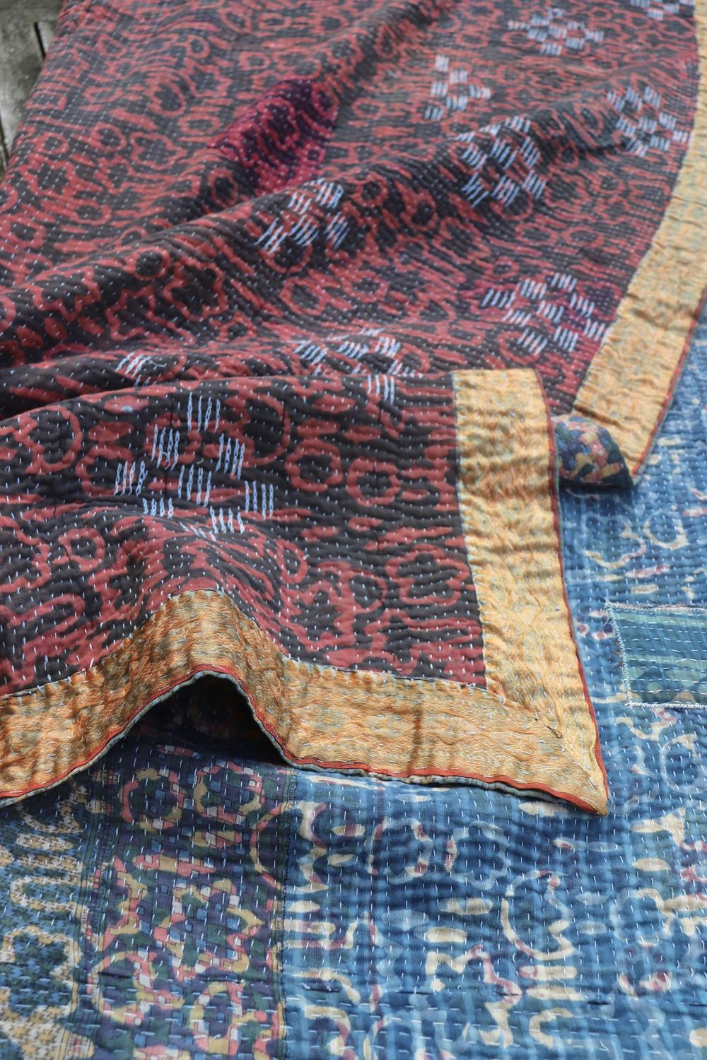 Indian throw/bedcover