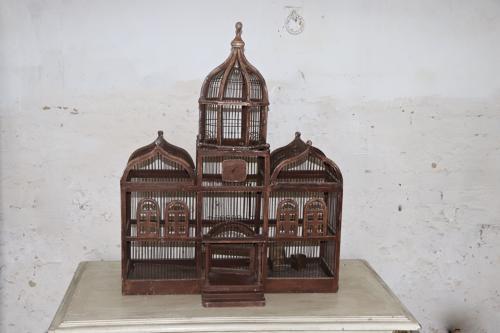 19th century French bird cage