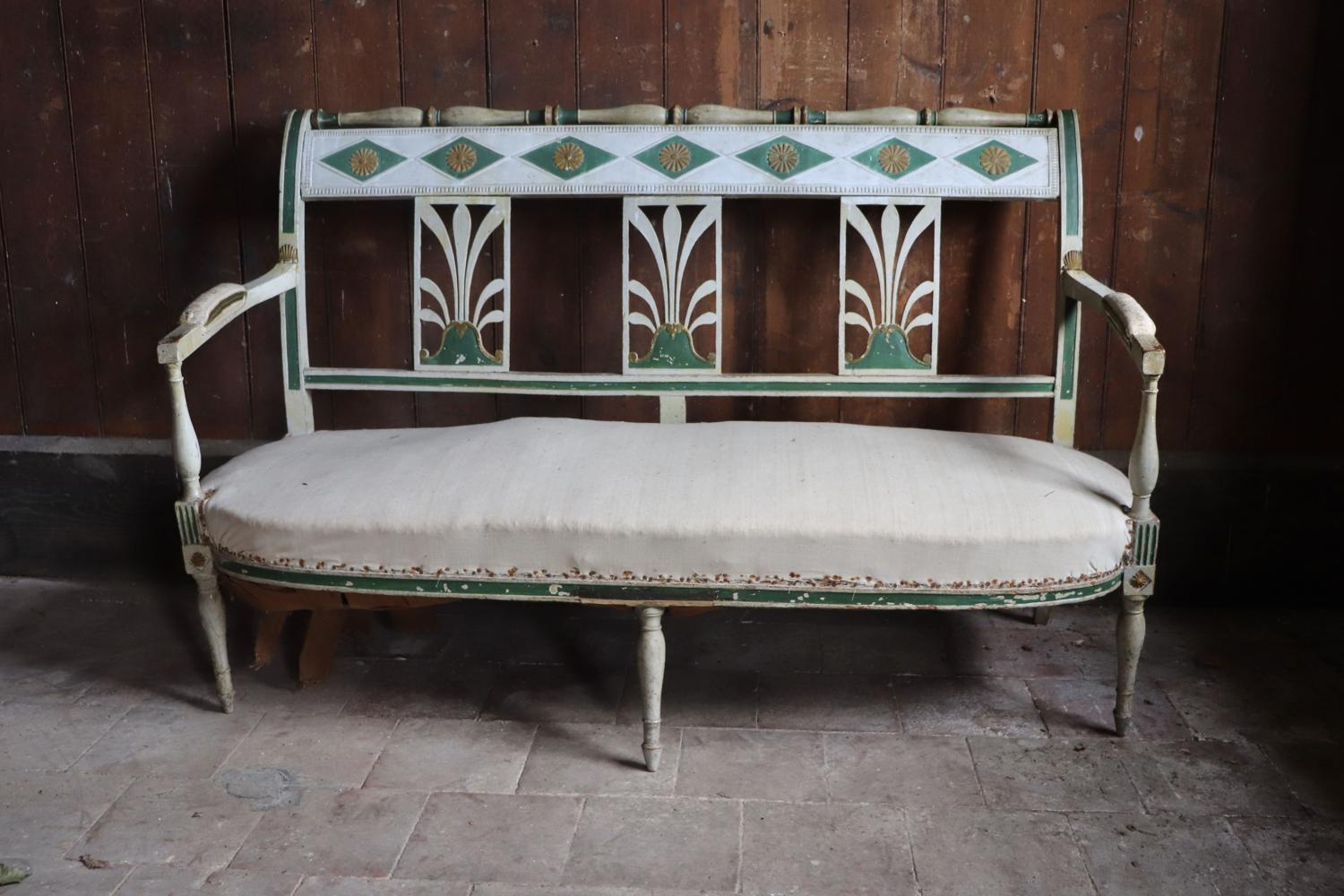 19th century French banquette