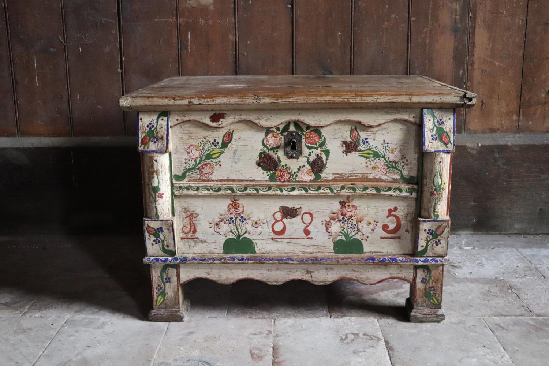 19th century Eastern European blanket box