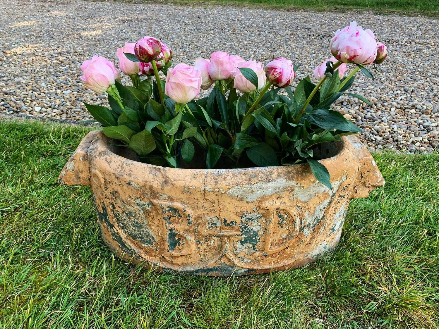 1930s French planter with initials 'BD'