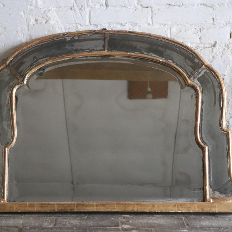 Georgian overmantel mirror