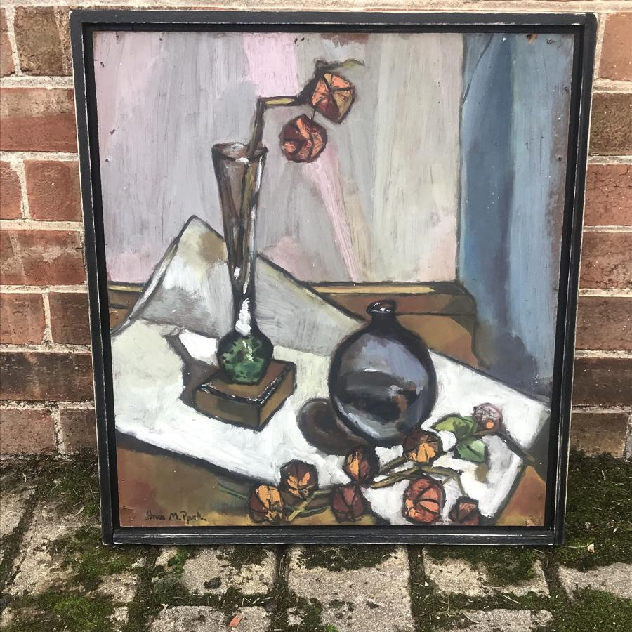 1940s Belgian abstract still life