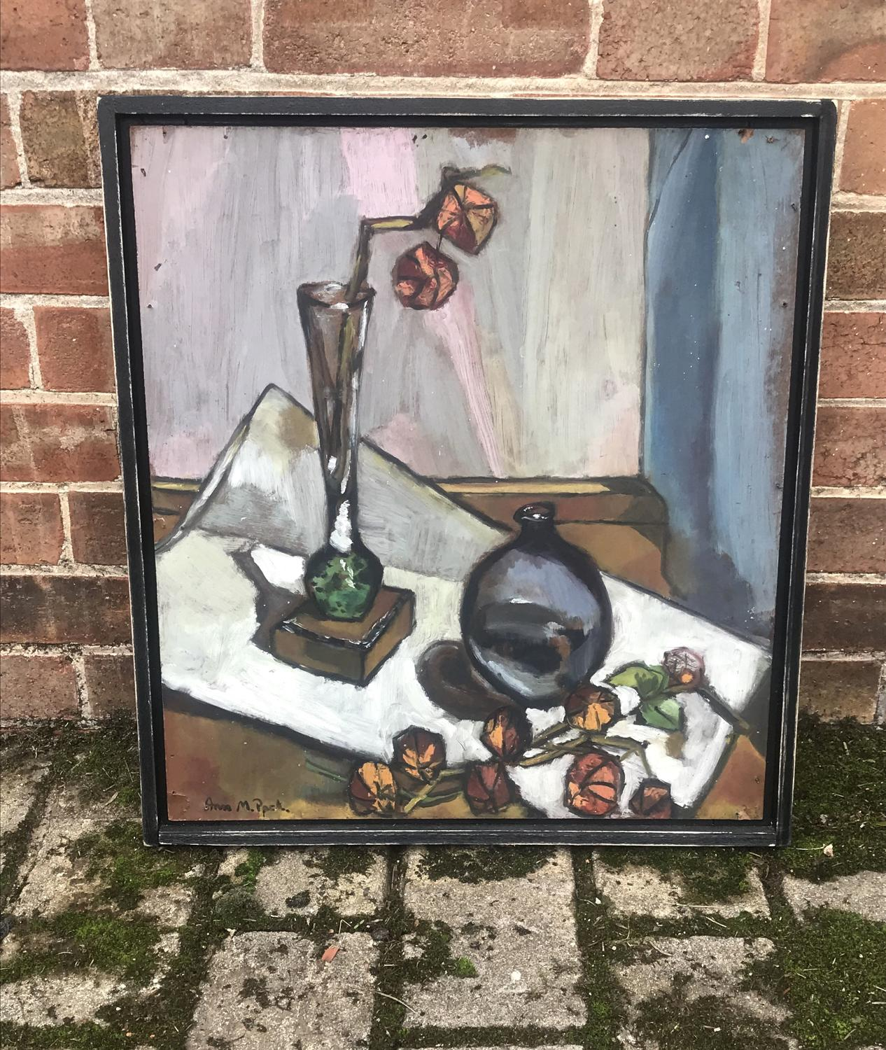 1940s Belgian abstract still life