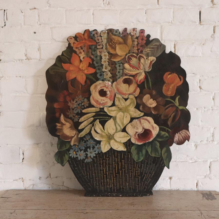 Victorian floral dummy board
