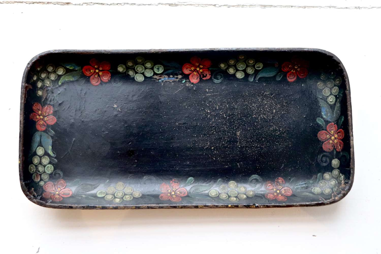Small papier maché tray