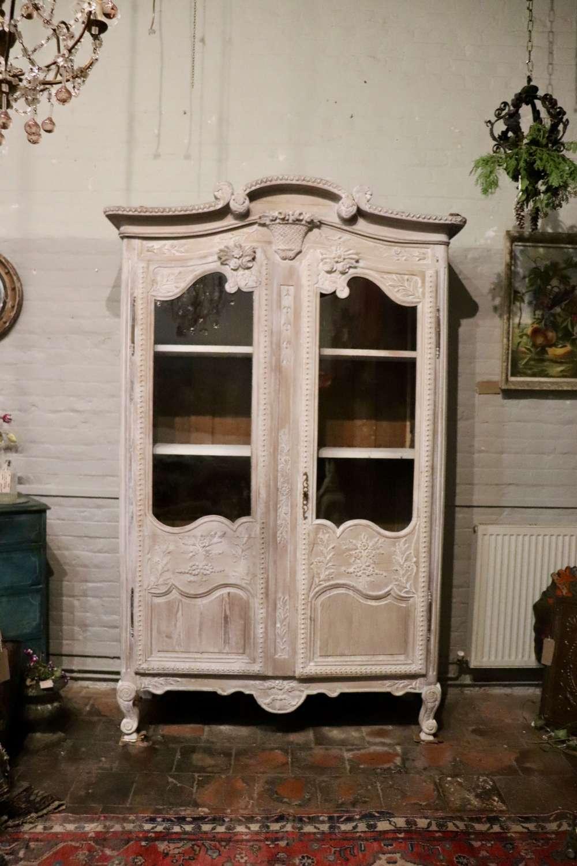 19th century French vitrine