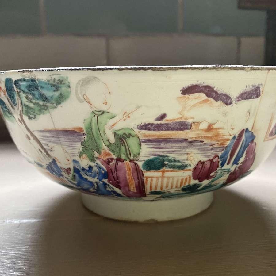 19th century oriental bowl