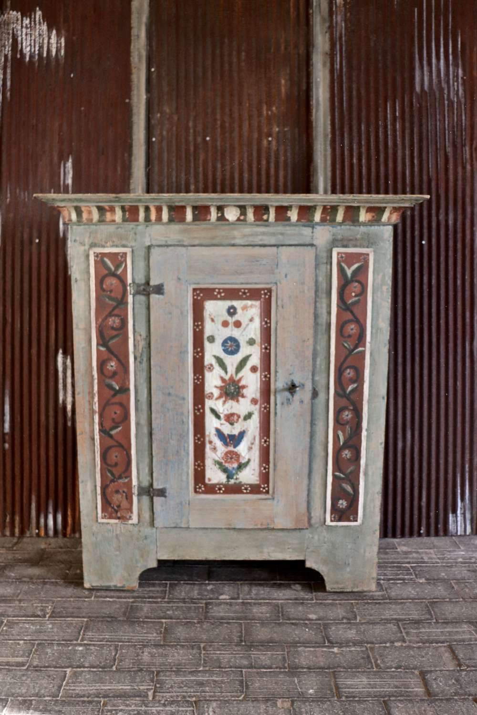 19th century Swedish shelved cupboard