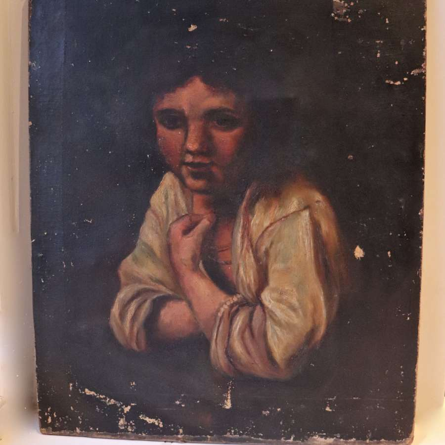Late 19th century portrait of a boy