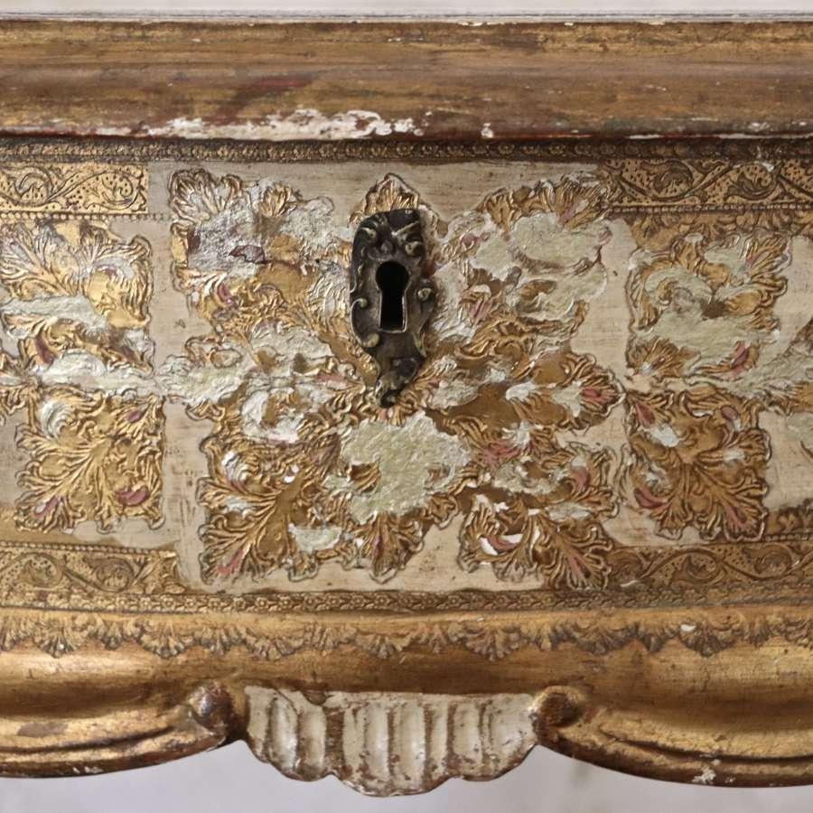 Mid century Florentine dressing table