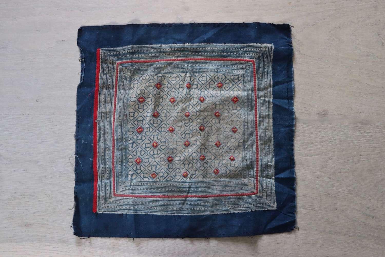 Vintage North Vietnamese batik