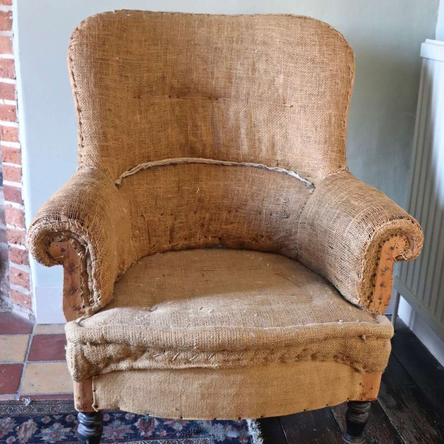 French Napolean III armchair