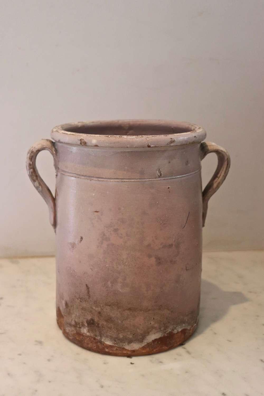 19th century Italian confit pot