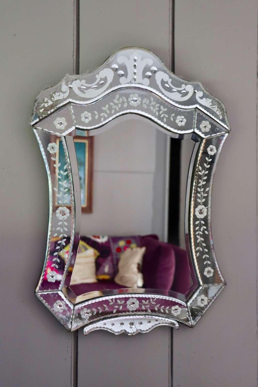 1950s Venetian mirror