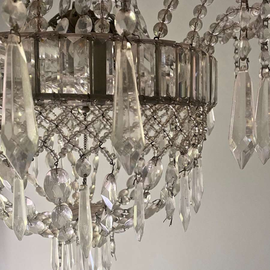 Elegant Italian chandelier