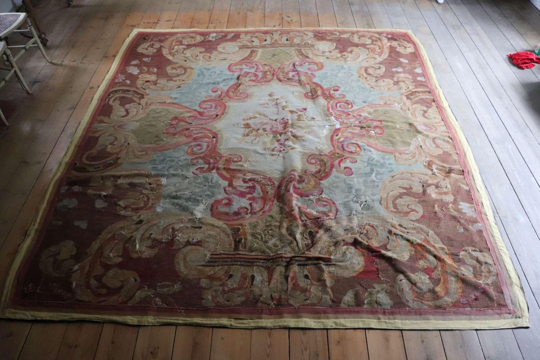 Aubusson style rug