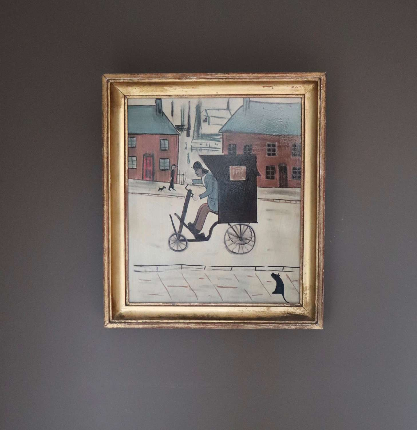 Copy of L S Lowry painting