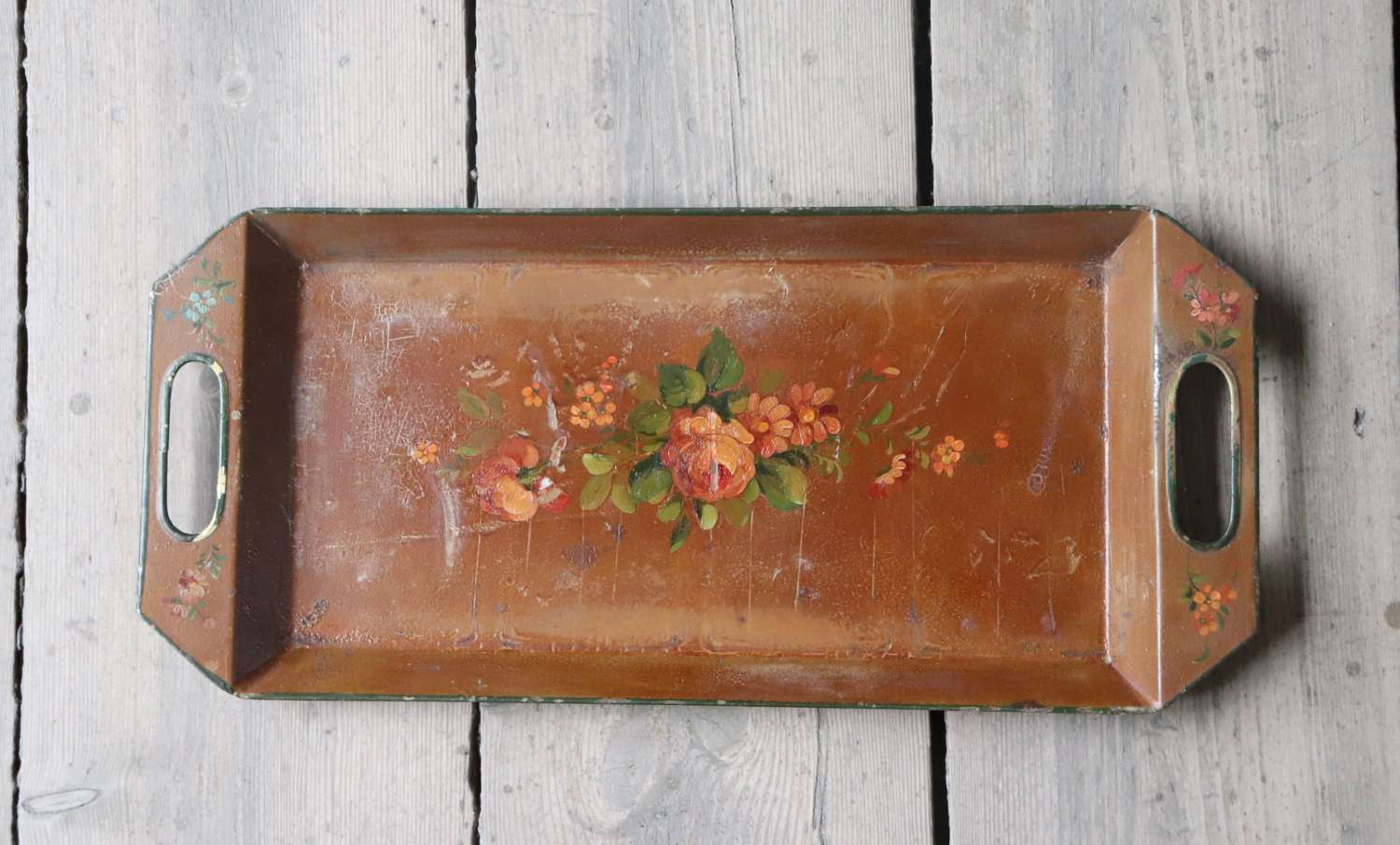 Mid 20th century toleware tray