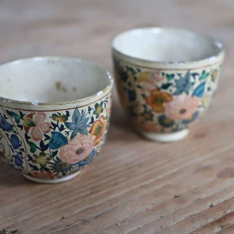 Two small  Kashmiri pots dating to the mid century