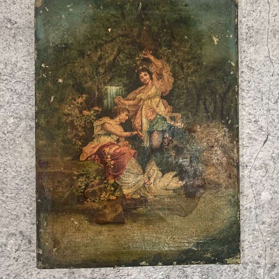 Print on canvas - early 20th century