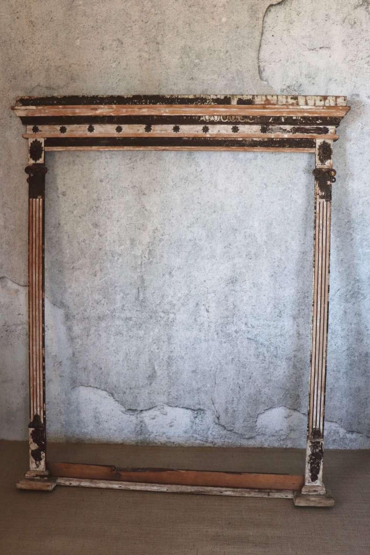 Large 19th century decorative frame