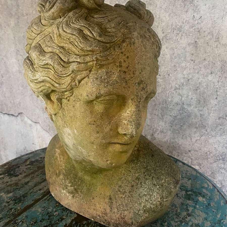 Beautiful Bust of a Grecian Goddess