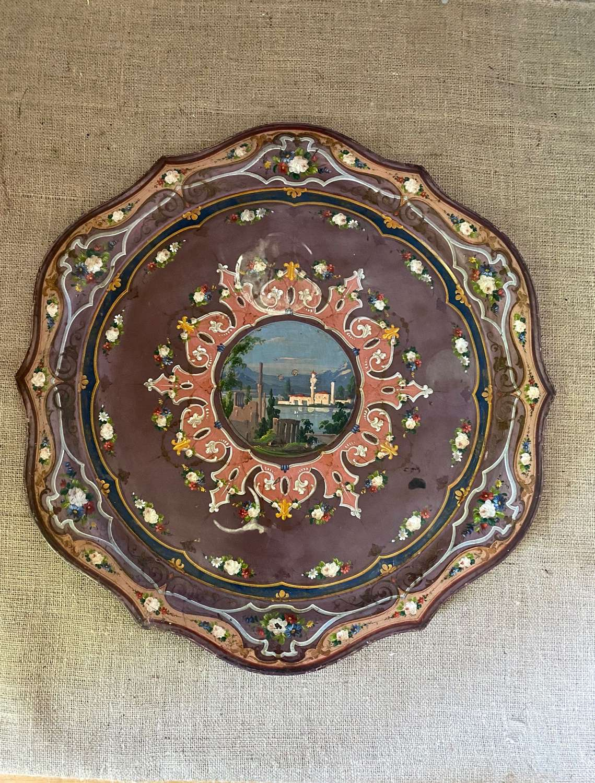 Beautiful Italian toleware tray