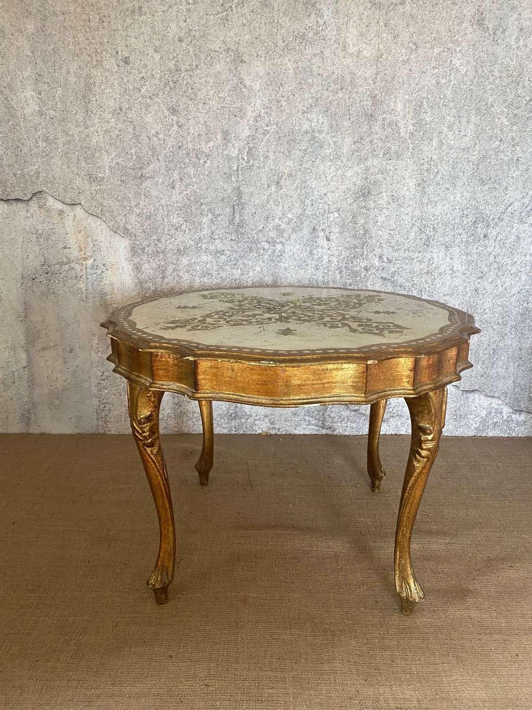 Mid century Florentine table