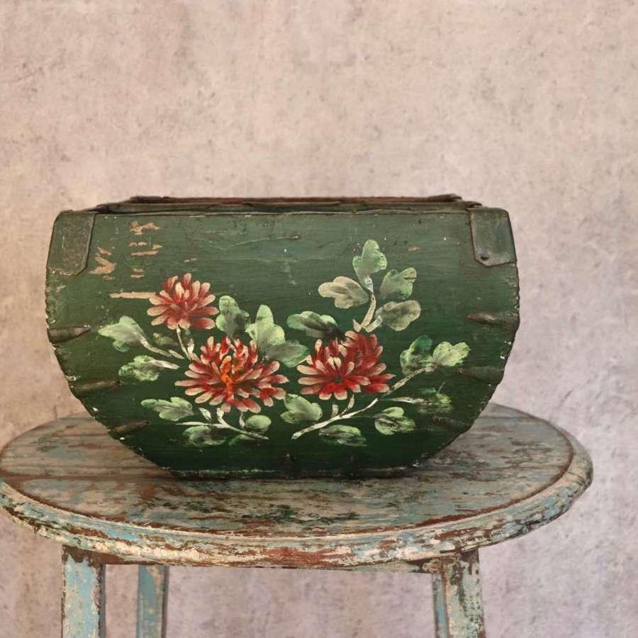 19th century Chinese rice trug